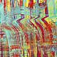 Абстракция ручной работы. Абстрактная живопись. Glow 77.. Анна. Интернет-магазин Ярмарка Мастеров. Мультиколор, искусство, современная картина