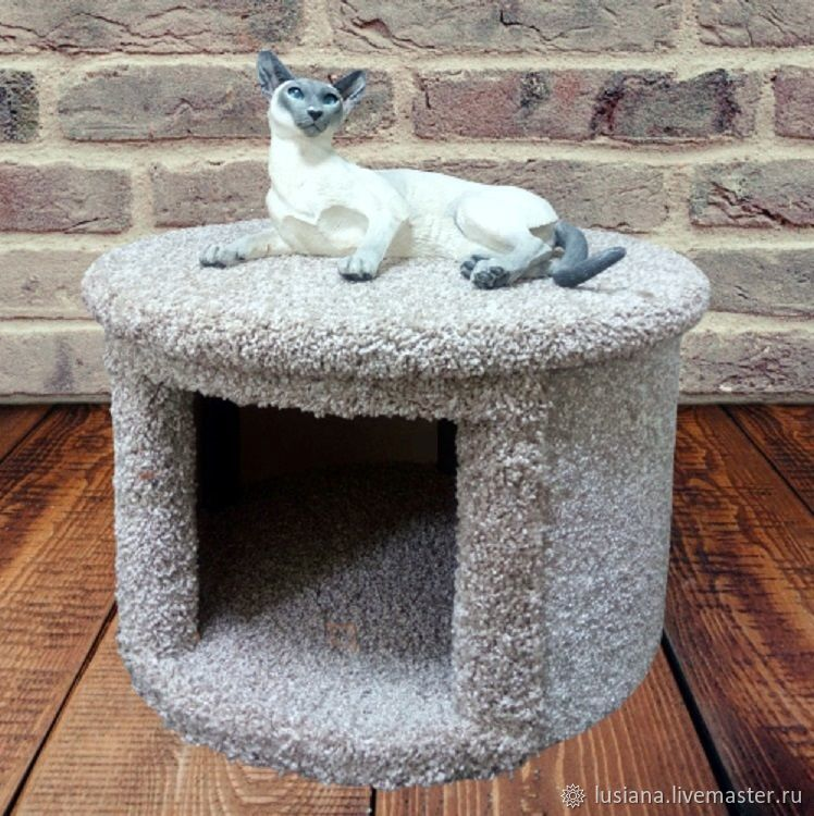 Round house for dogs and cats to buy.Order in size, Pet House, Ekaterinburg,  Фото №1