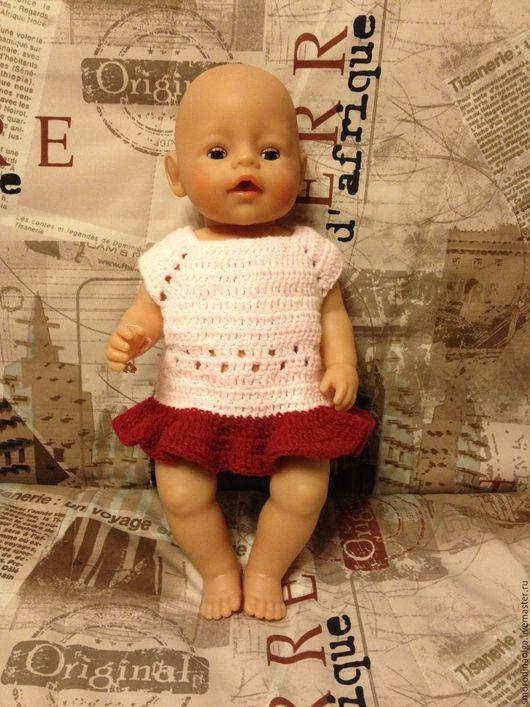 Одежда для кукол ручной работы. Ярмарка Мастеров - ручная работа. Купить Платье для куклы Беби Бон. Handmade. Одежда для кукол