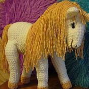 Куклы и игрушки ручной работы. Ярмарка Мастеров - ручная работа Волшебная белая лошадка. Handmade.
