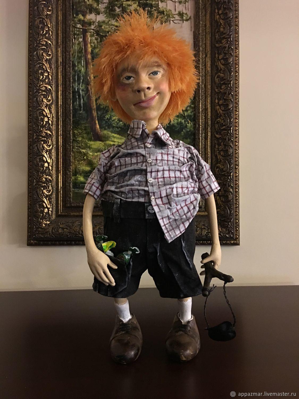 Авторская кукла Хулиган, Куклы и пупсы, Москва,  Фото №1