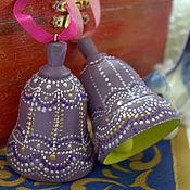"""Подарки к праздникам ручной работы. Ярмарка Мастеров - ручная работа Елочная игрушка """"Колокольчик"""". Handmade."""