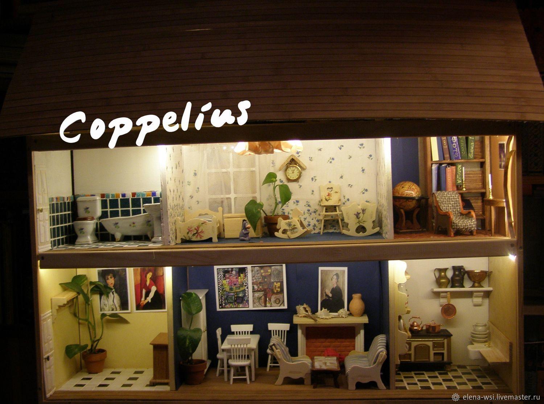Настенный домик для кукол,где все по-настоящему, Кукольные домики, Москва,  Фото №1