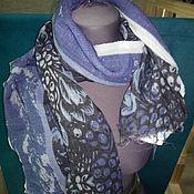 Аксессуары handmade. Livemaster - original item Scarves made of thin wool Pavlov Posad. Handmade.