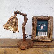 Настольные лампы ручной работы. Ярмарка Мастеров - ручная работа Настольная лампа из дрифтвуда KRYM. Handmade.