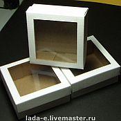 Материалы для творчества handmade. Livemaster - original item box with window. Handmade.