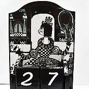 Канцелярские товары ручной работы. Ярмарка Мастеров - ручная работа Чёрная Королева. Handmade.