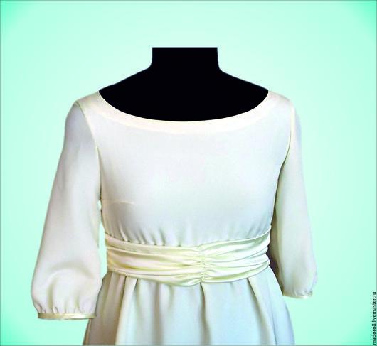 """Для будущих и молодых мам ручной работы. Ярмарка Мастеров - ручная работа. Купить Платье """"Сливки"""" для будущих мам. Handmade."""