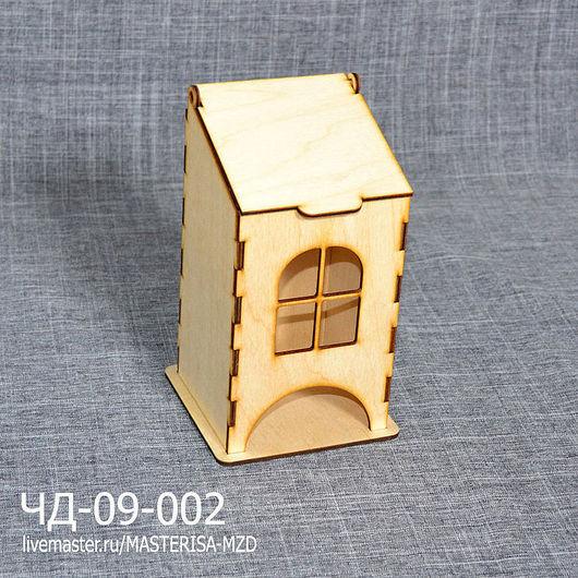 ЧД-09-002. Маленький чайный домик с окошком.