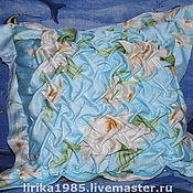 Для дома и интерьера ручной работы. Ярмарка Мастеров - ручная работа Подушка с буфами. Handmade.