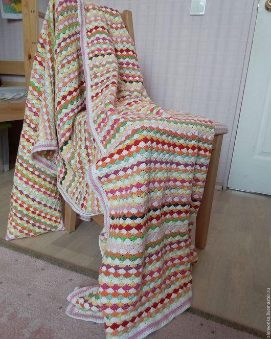 Пледы и одеяла ручной работы. Ярмарка Мастеров - ручная работа. Купить Одеяло плед покрывало. Handmade. Комбинированный, покрывало детское