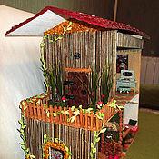 Куклы и игрушки ручной работы. Ярмарка Мастеров - ручная работа Кукольный домик Лесной. Handmade.