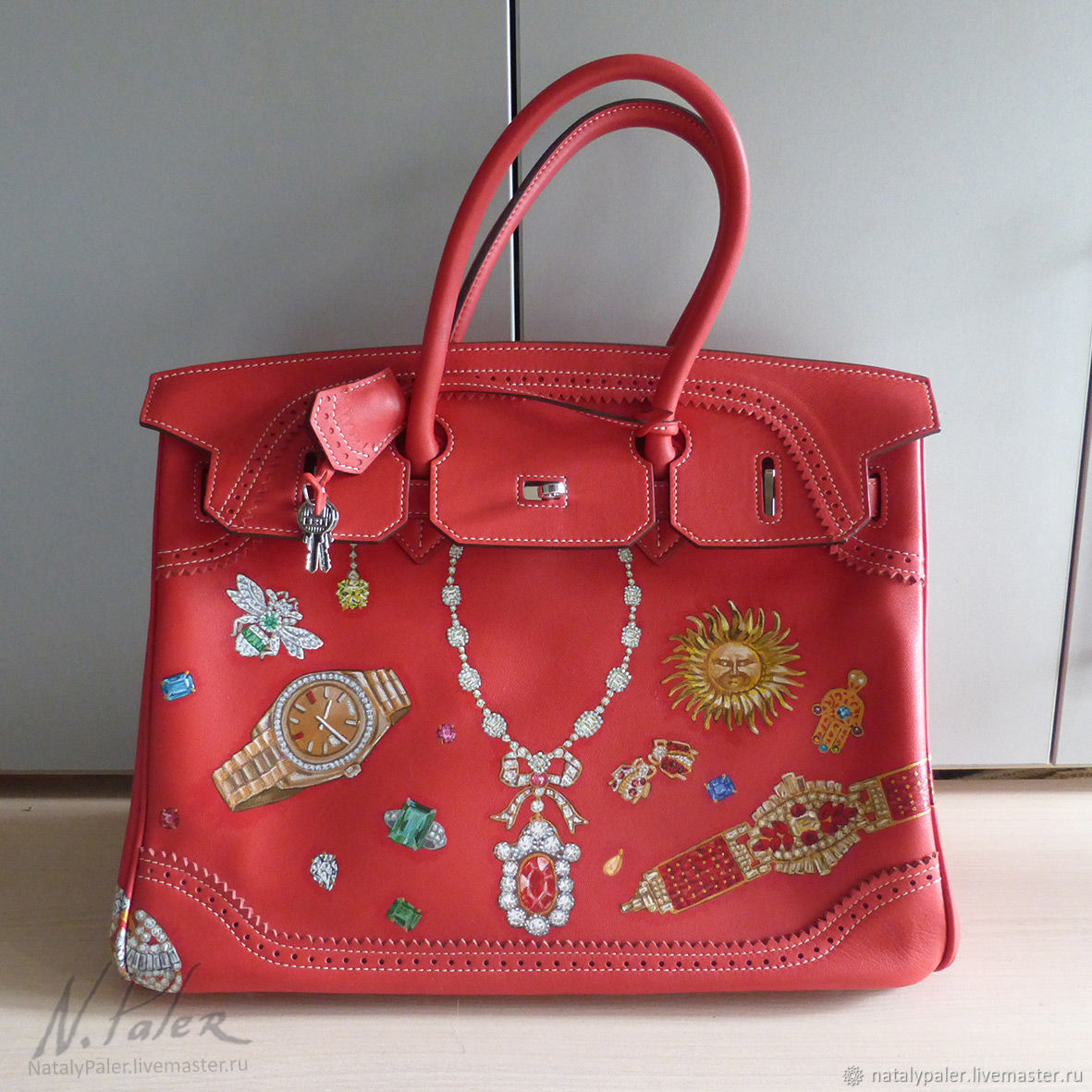 Painted bags. ' Mes bijoux', Classic Bag, Moscow,  Фото №1