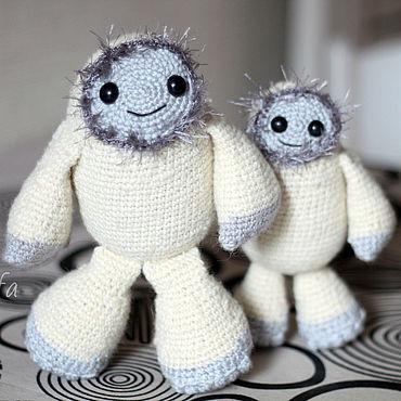 Dolls & toys handmade. Livemaster - original item Toys: Yeti - the Snow man. Handmade.