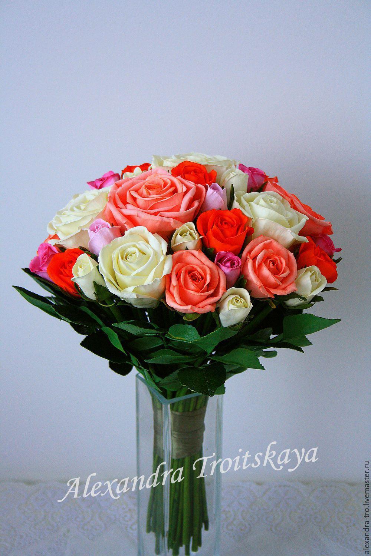 Букеты цветы из фоамирана