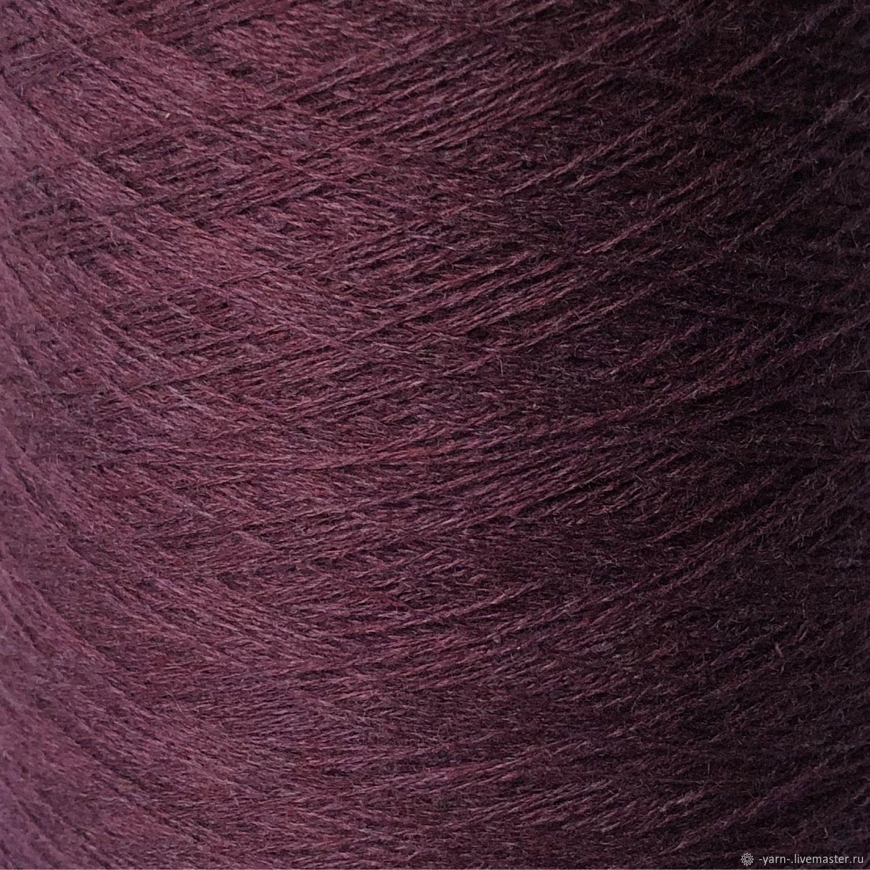 Пряжа Кашемир 2/28 пыльный фиолет – купить на Ярмарке Мастеров – N3BNKRU | Пряжа, Санкт-Петербург