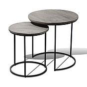 Для дома и интерьера handmade. Livemaster - original item Set of grey tables, INDU DHUSAR. Handmade.