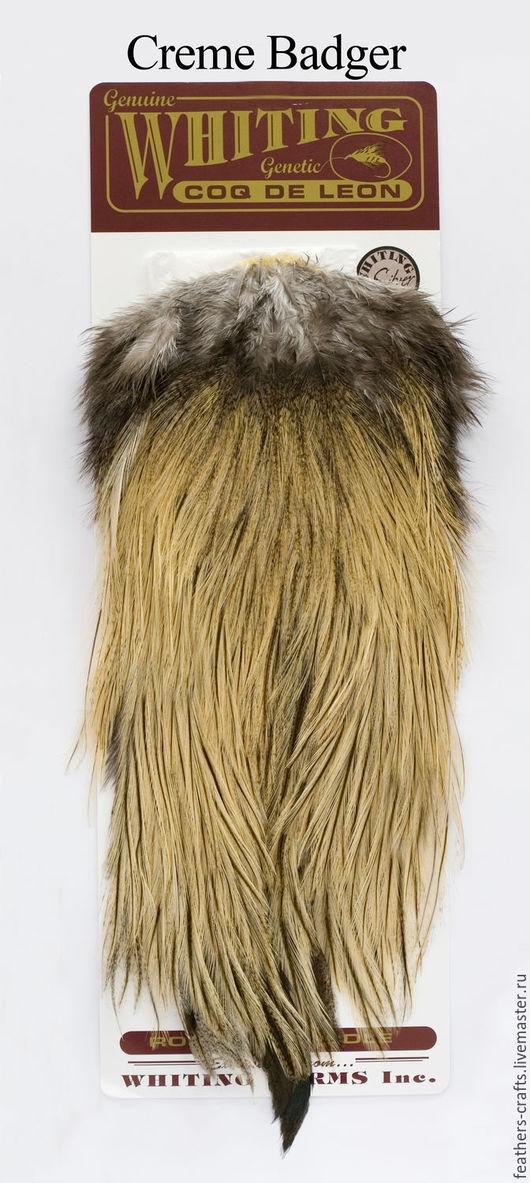 Другие виды рукоделия ручной работы. Ярмарка Мастеров - ручная работа. Купить Перья Coq de Leon Silver Rooster Saddle (51202011). Handmade.