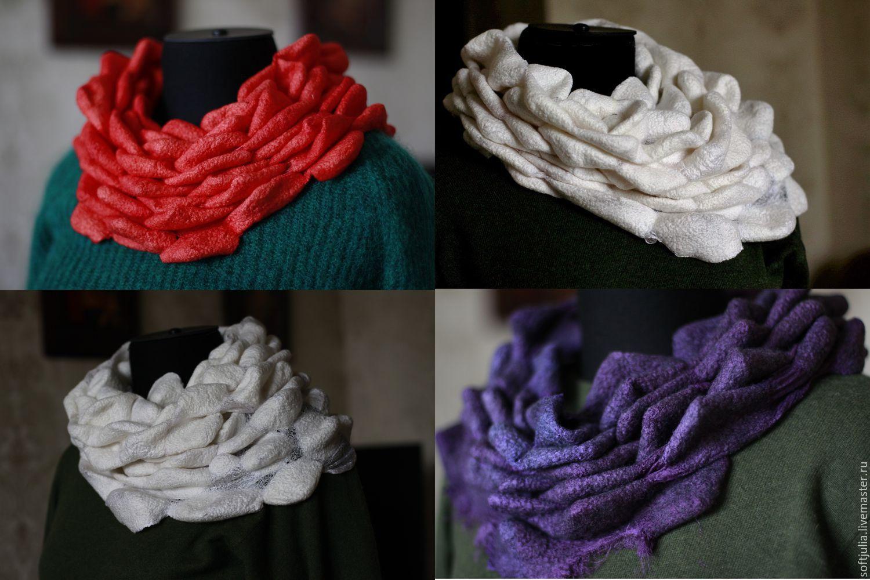 3D шарфы, видео-урок, Курсы и мастер-классы, Санкт-Петербург,  Фото №1