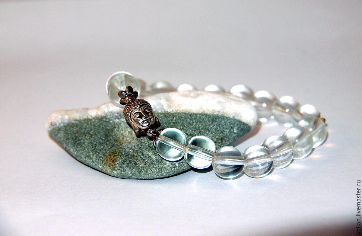 Buddha bracelet rhinestone, Ritual attributes, Moscow,  Фото №1