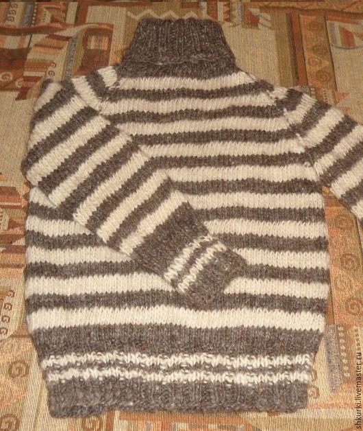 Одежда унисекс ручной работы. Ярмарка Мастеров - ручная работа. Купить Свитер детский из натуральной шерсти. Handmade. Свитер