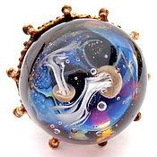 Украшения handmade. Livemaster - original item Ring Sea. Handmade.