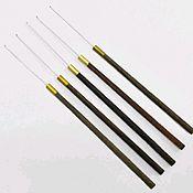 Инструменты для вышивки ручной работы. Ярмарка Мастеров - ручная работа Индийский крючок размер А. Handmade.