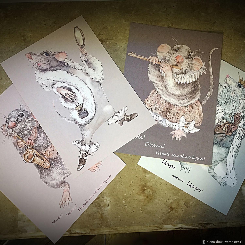 это авторские открытки иллюстрации хорское одно немногих