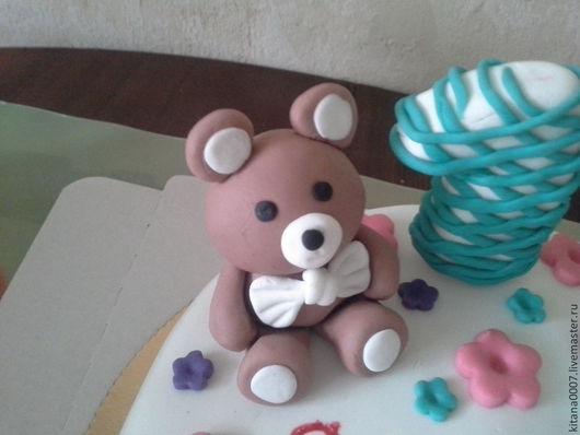 Персональные подарки ручной работы. Ярмарка Мастеров - ручная работа. Купить Фигурки на торт. Handmade. День рождения, юбилей, торт