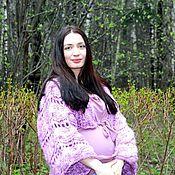 """Одежда ручной работы. Ярмарка Мастеров - ручная работа Болеро """"Lavender"""". Handmade."""