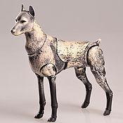 Куклы и игрушки ручной работы. Ярмарка Мастеров - ручная работа Бжд кукла собака Фентази. Handmade.