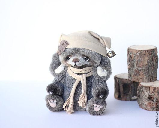 Мишки Тедди ручной работы. Ярмарка Мастеров - ручная работа. Купить Тимми зайка. Handmade. Темно-серый, кролик тедди