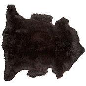 Для дома и интерьера ручной работы. Ярмарка Мастеров - ручная работа Овечья шкура черно-коричневого цвета. Handmade.