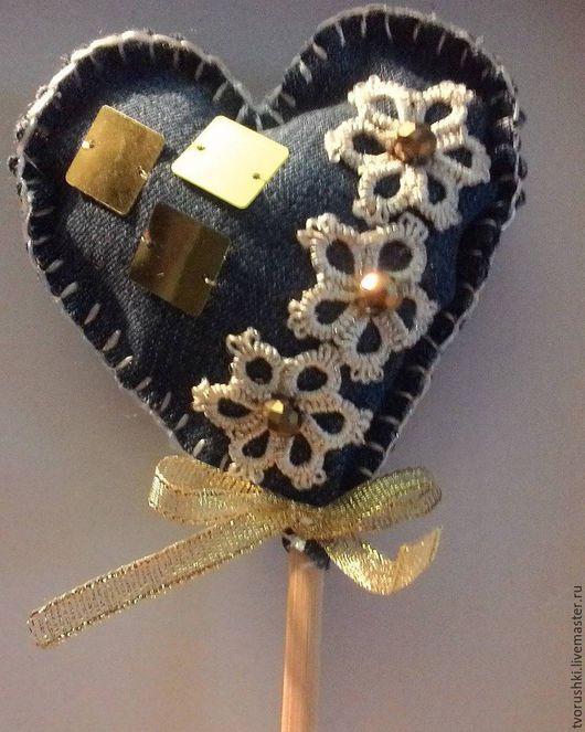 Подарки для влюбленных ручной работы. Ярмарка Мастеров - ручная работа. Купить валентинка. Handmade. Голубой, валентинка сердце