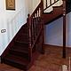 Элементы интерьера ручной работы. Лестницы на три этажа. Андрей. Кухни, мебель и лестницы... Ярмарка Мастеров. Болясины, Дуб