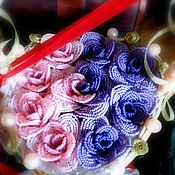 Свадебный салон ручной работы. Ярмарка Мастеров - ручная работа Свадебная корзина. Handmade.