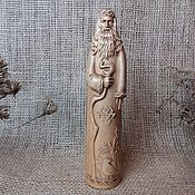 Русский стиль handmade. Livemaster - original item Chernobog, Slavic god, wooden statuette. Handmade.