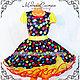 """Одежда для девочек, ручной работы. Ярмарка Мастеров - ручная работа. Купить Детское платье """"Стиляги"""" Арт.-011. Handmade."""