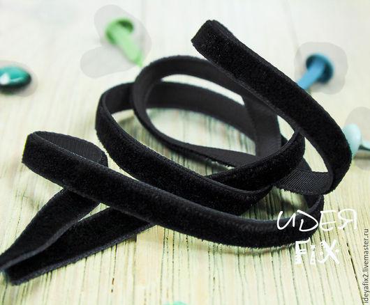 Лента бархатная черного цвета. Ширина 6 мм.  Цена указана за 1 м.