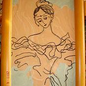 """Картины и панно ручной работы. Ярмарка Мастеров - ручная работа картина """"женщина"""". Handmade."""