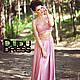 Юбки ручной работы. Комплект юбка+топ пыльная роза. Dudu-dress. Ярмарка Мастеров. Длинная юбка, юбка пыльная роза