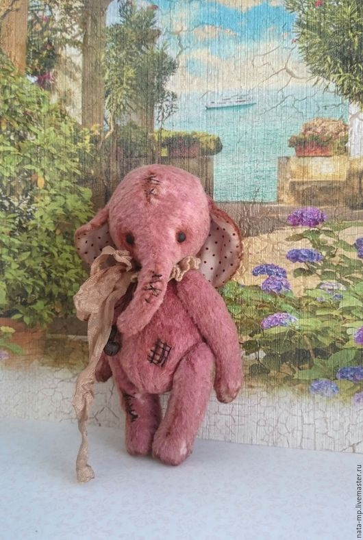 Мишки Тедди ручной работы. Ярмарка Мастеров - ручная работа. Купить Слоник Нил. Handmade. Слоник тедди