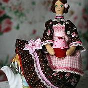 Для дома и интерьера ручной работы. Ярмарка Мастеров - ручная работа Барышня грелка на чайник. Handmade.