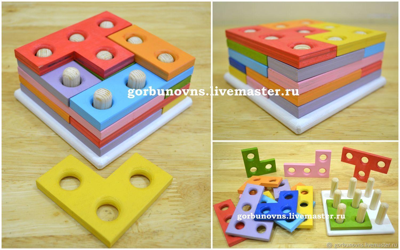 Puzzle Building Blocks wooden, Puzzle, Simferopol,  Фото №1