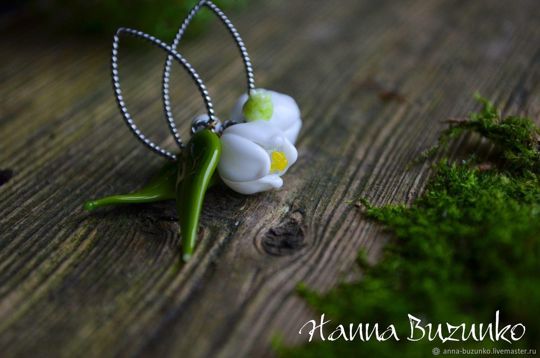 Earrings classic: ' Lily of the valley', Earrings, Minsk,  Фото №1