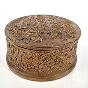 Для дома и интерьера handmade. Livemaster - original item Box: Large carved wooden box. Handmade.