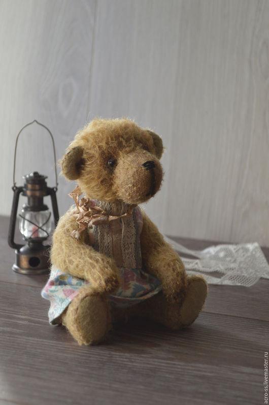 Мишки Тедди ручной работы. Ярмарка Мастеров - ручная работа. Купить Тедди малышка) ( БРОНЬ). Handmade. Коричневый