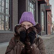 handmade. Livemaster - original item Hat winter. Handmade.