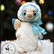Куклы и игрушки ручной работы. Ярмарка Мастеров - ручная работа Бабочка Снежинка. Handmade.