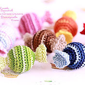 Куклы и игрушки ручной работы. Ярмарка Мастеров - ручная работа Набор вязаных конфеток. Handmade.